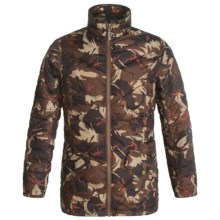 Barbour Bateleur Jacket (For Girls) in Orange Camo - Closeouts