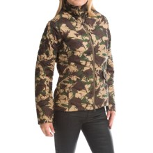 Barbour Bateleur Quilted Jacket (For Women) in Green Camo - Closeouts