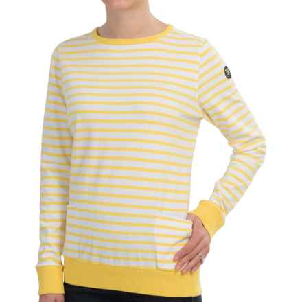 Barbour Berkley Sweatshirt (For Women) in Yellow - Closeouts