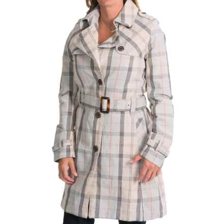 Barbour Birch Trench Coat - Cotton-Linen (For Women) in Summer Dress - Closeouts