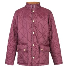 Barbour Blenkid Jacket (For Boys) in Rosewood - Closeouts