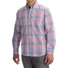 Barbour Brinkley Classic Shirt - Cotton, Button Front, Long Sleeve (For Men) in Crimson - Closeouts