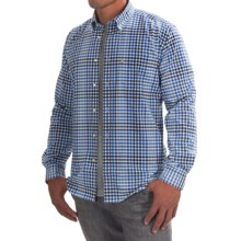 Barbour Brinkley Classic Shirt - Cotton, Button Front, Long Sleeve (For Men) in Navy - Closeouts