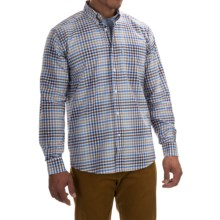 Barbour Brinkley Classic Shirt - Cotton, Button Front, Long Sleeve (For Men) in Rustic - Closeouts