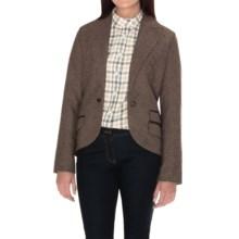 Barbour Bromfield Wool Tweed Jacket (For Women) in Brown Tweed - Closeouts