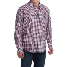 Barbour Bruce Shirt - Regular Fit, Long Sleeve (For Men) in Navy Check - Closeouts