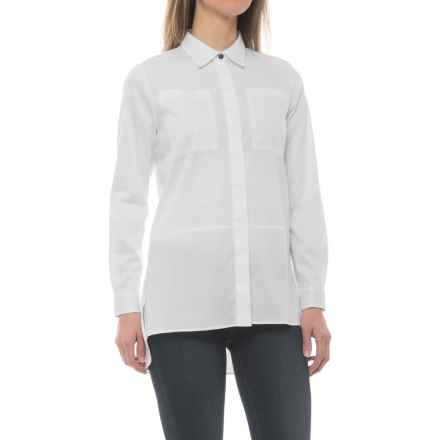 Barbour Bruray Shirt - Long Sleeve (For Women) in White - Closeouts