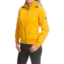 Barbour Bullpoint Quilted Jacket (For Women) in Yellow - Closeouts
