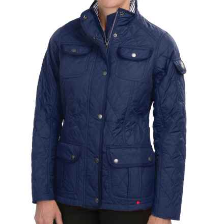 Barbour Buryhead Utility Jacket (For Women) in Naval Blue - Closeouts