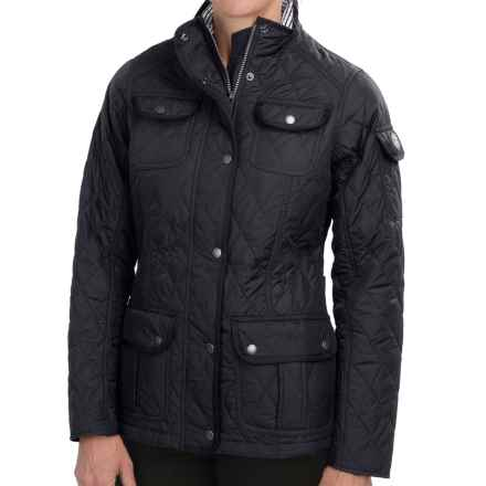 Barbour Buryhead Utility Jacket (For Women) in Navy - Closeouts