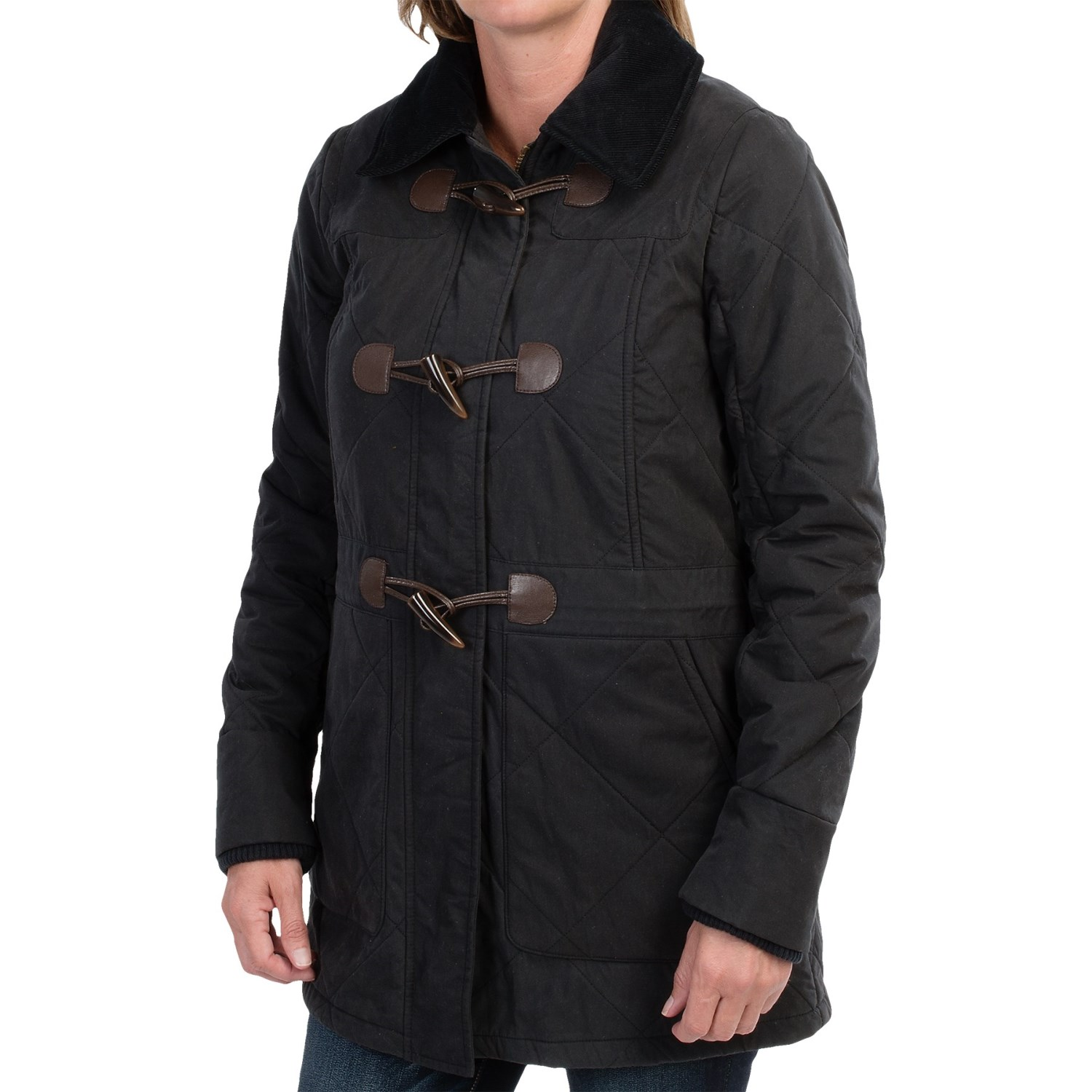 Summit Garage - barbour buttermere duffle coat waterproof