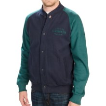 Barbour Cadet Baseball Jacket (For Men) in Navy - Closeouts