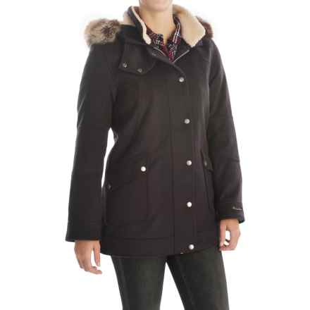Barbour Carlin Duffle Coat (For Women) in Navy, Carston - Closeouts
