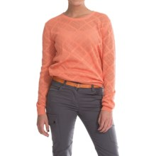 Barbour Caroy Cotton Sweater (For Women) in Camelia - Closeouts