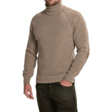 Barbour Casterley Turtleneck Sweater - Merino Wool (For Men) in Sandstone - Closeouts