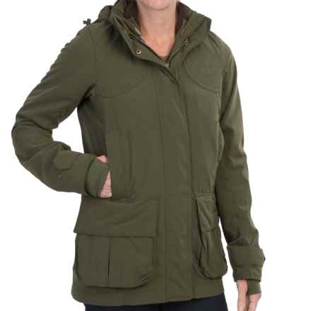 Barbour Chapeldale Shooting Jacket (For Women) in Olive - Closeouts