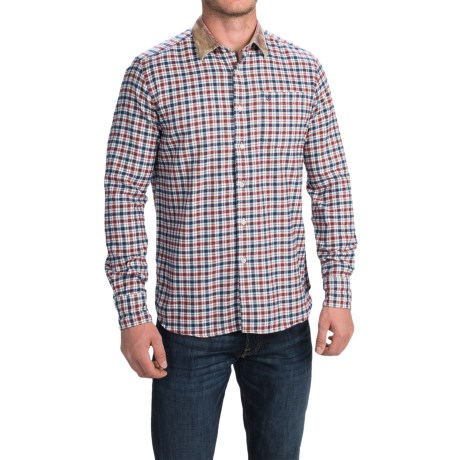 Barbour Chathill Brushed Cotton Shirt Tailored Fit (For Men)