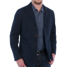Barbour Chatsworth Casual Blazer - Stretch Cotton (For Men) in Navy - Closeouts