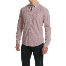 Barbour Chatsworth Shirt - Button-Down Collar, Long Sleeve (For Men) in Amber Check - Closeouts