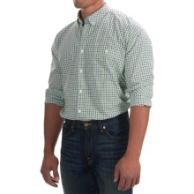 Barbour Chatsworth Shirt - Button-Down Collar, Long Sleeve (For Men) in Turf Check - Closeouts