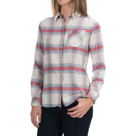 Barbour Check Plaid Shirt - Long Sleeve (For Women) in Red Check, Tidewater - Closeouts