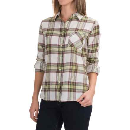 Barbour Check Plaid Shirt - Long Sleeve (For Women) in Seaweed Check, Brae - Closeouts