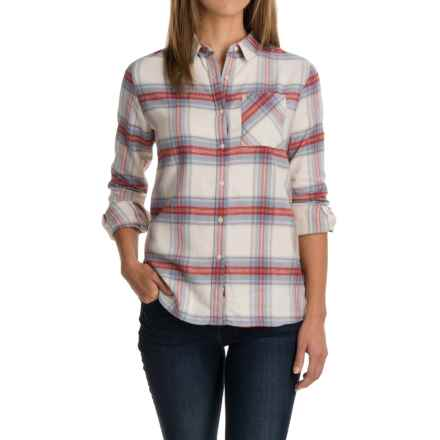 Barbour Check Plaid Shirt - Long Sleeve (For Women) in Tidewater Red Check - Closeouts