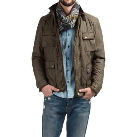 Barbour Chukka Diamond Quilted Jacket (For Men) in Olive - Closeouts