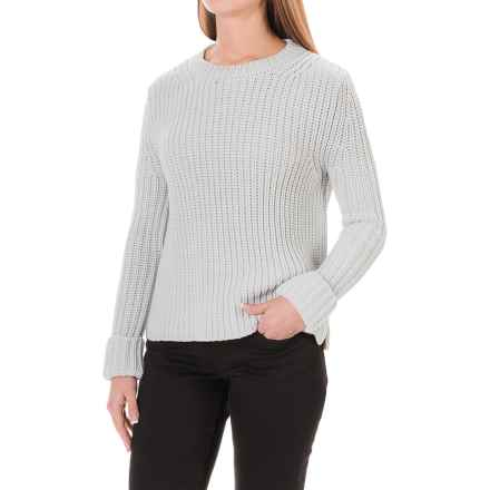 Barbour Clove Hitch Sweater - Crew Neck (For Women) in Silver Ice - Closeouts
