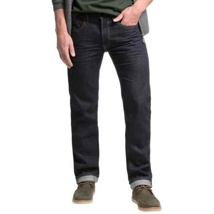Barbour Comet Jeans - Regular Fit (For Men) in Rinse & Resin - Closeouts