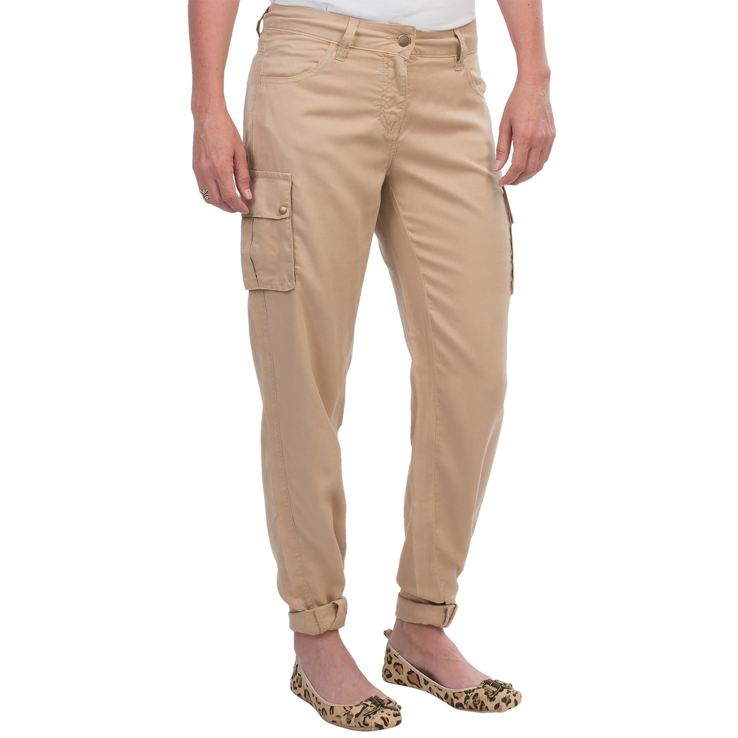 Barbour Commando Loose Fit Cargo Pants (For Women) - Save 81%