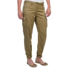 Barbour Commando Loose Fit Cargo Pants (For Women) in Khaki - Closeouts