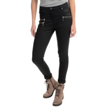 Barbour Cotton Pants - Flat Front (For Women) in Black, India, Coated - Closeouts