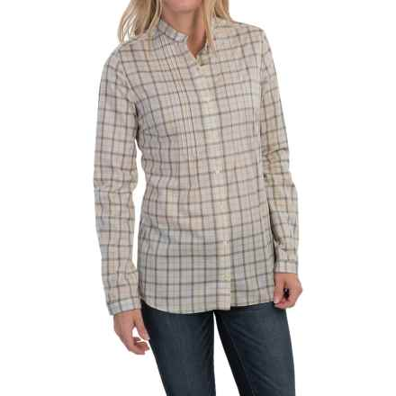 Barbour Cotton Shirt - Long Sleeve (For Women) in Faded, Bowes, Tailored - Closeouts