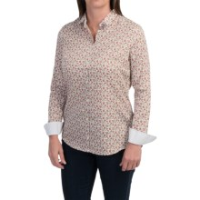 Barbour Cotton Shirt - Long Sleeve (For Women) in Promenade, Encore - Closeouts
