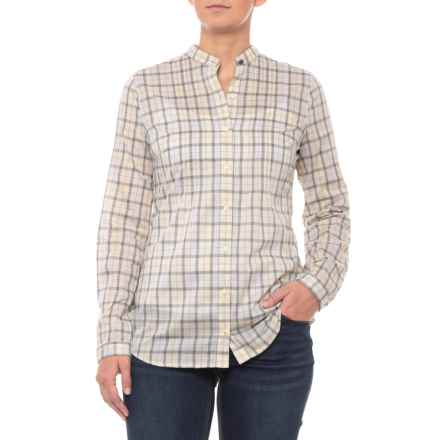 Barbour Cotton Shirt - Long Sleeve (For Women) in Tan - Closeouts