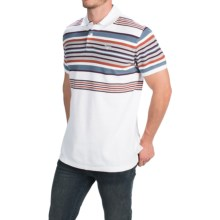 Barbour Cotton Shirt - Short Sleeve (For Men) in White, Langton - Closeouts