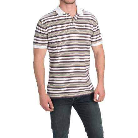 Barbour Cotton Shirt - Short Sleeve (For Men) in White, Scott - Closeouts