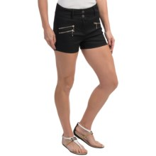 Barbour Cotton Shorts (For Women) in Black, India, Coated - Closeouts