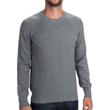 Barbour Cotton Staple Sweater - Crew Neck (For Men) in Navy Marl - Closeouts