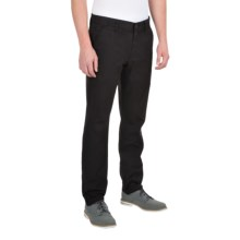 Barbour Cotton Trousers (For Men) in Black, Dockman - Closeouts
