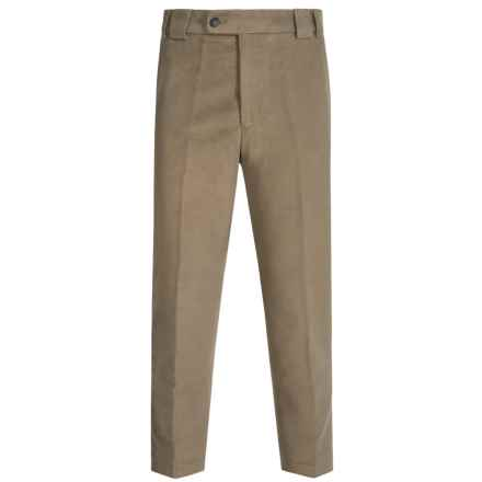 Barbour Cotton Trousers (For Men) in Lovat, Drainpipe, Moleskin - Closeouts