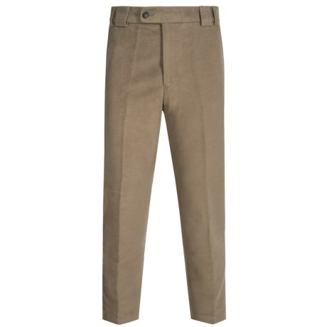 Barbour Cotton Trousers (For Men) in Lovat, Drainpipe, Moleskin