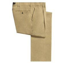 Barbour Cotton Twill Pants - Relaxed Fit (For Men) in Sandstone - Closeouts