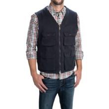 Barbour Cotton Vest Waistcoat (For Men) in Navy, Quail - Closeouts