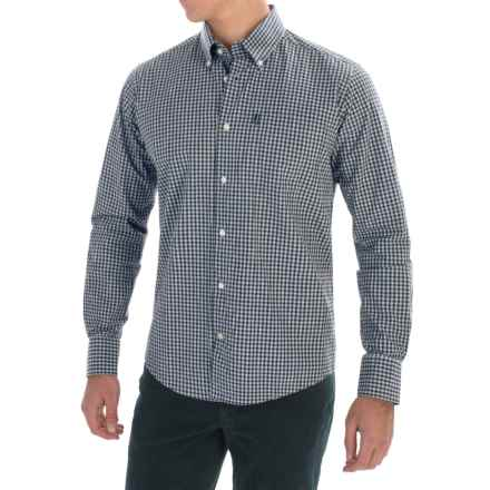 Barbour Country Gingham Shirt - Long Sleeve (For Men) in Navy - Closeouts