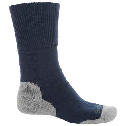 Barbour Cragg Boot Socks - Crew (For Men) in Navy - Closeouts