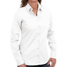 Barbour Cramlington Cotton Shirt - Long Sleeve (For Women) in White - Closeouts