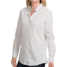 Barbour Creran Shirt - Long Sleeve (For Women) in Green Lily/Dress Tartan - Closeouts