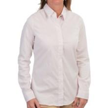 Barbour Creran Shirt - Long Sleeve (For Women) in Rose Mauve/Dress Tartan - Closeouts
